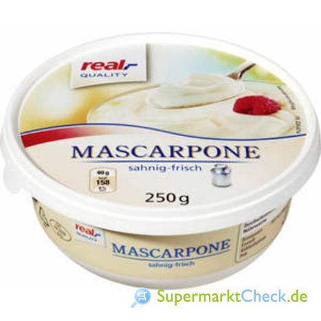 Foto von real Quality Mascarpone