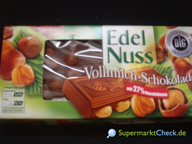 Foto von van d Or Edel Nuss Schokolade