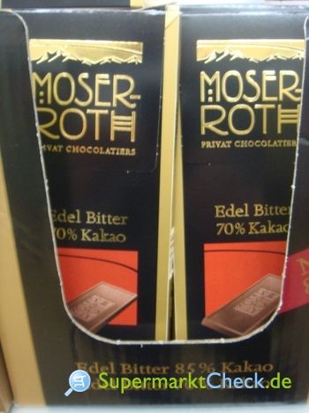 Foto von Moser-Roth Premium-Schokolade Edel-Bitter