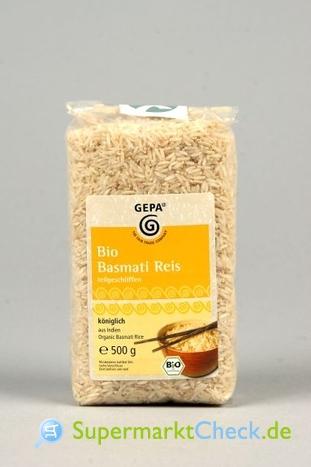 Foto von Gepa Bio Basmati Reis