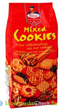Foto von Weese Mixed Cookies