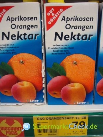 Foto von Gut & Günstig Aprikosen Orangen Nektar