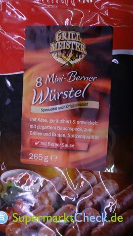 Foto von Grill Meister 8 Mini Berner Würstel