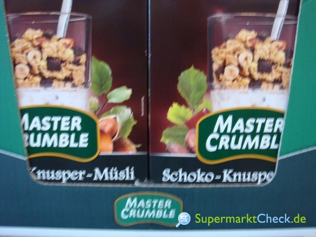 Foto von Master Crumble Schoko-Knusper