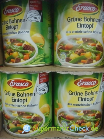 Foto von Erasco Grüne Bohnen-Topf