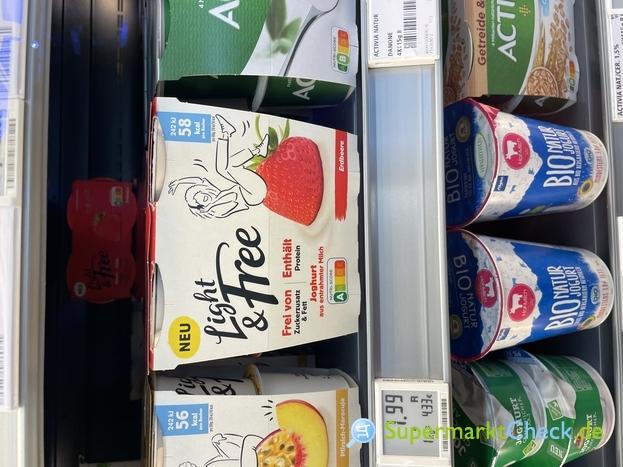 Foto von Danone Light & Free Joghurt