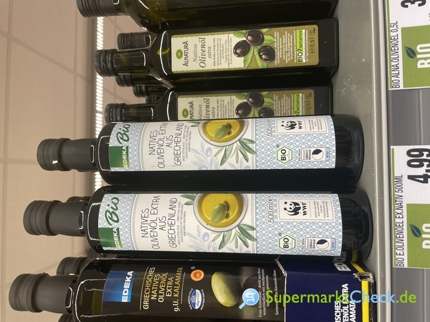 Foto von EDEKA Bio natives Olivenöl extra