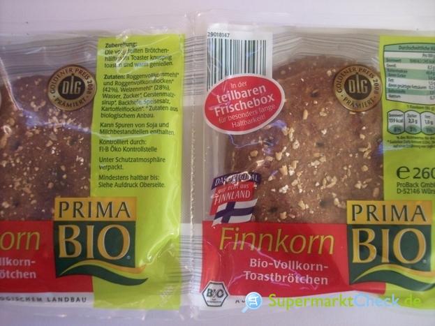 Foto von Prima Bio Finnkorn