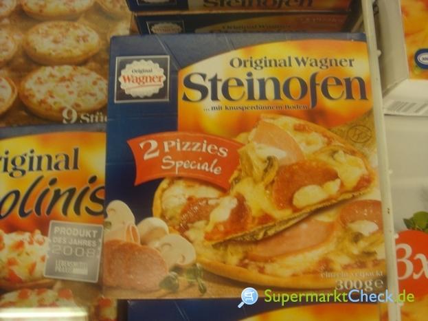 Foto von Original Wagner Steinofen 2 Pizzies Speciale