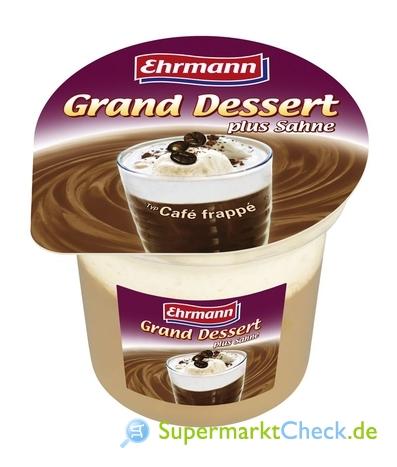 Foto von Ehrmann Grand Dessert Plus Sahne