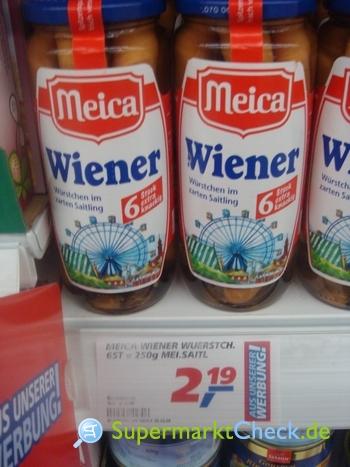 Foto von Meica Wiener Würstchen