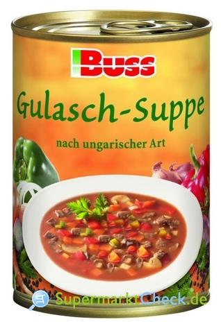 Foto von Buss Gulasch-Suppe