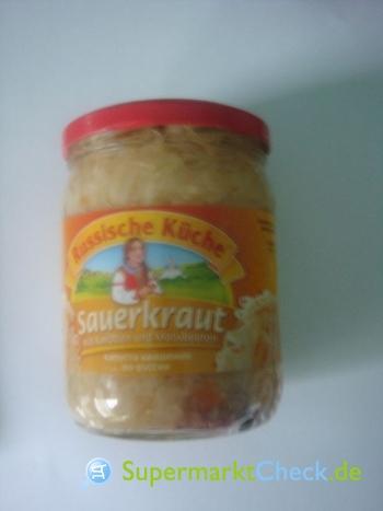 Foto von Dovgan  Russische Küche Sauerkraut