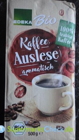 Foto von EDEKA Bio Kaffee Auslese