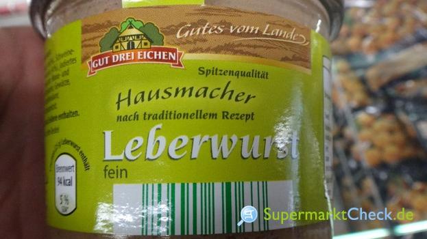 Foto von Gut Drei Eichen Hausmacher Leberwurst