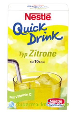 Foto von Nestle Quick Drink