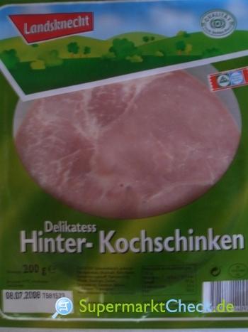 Foto von Landsknecht Delikatess Hinter-Kochschinken