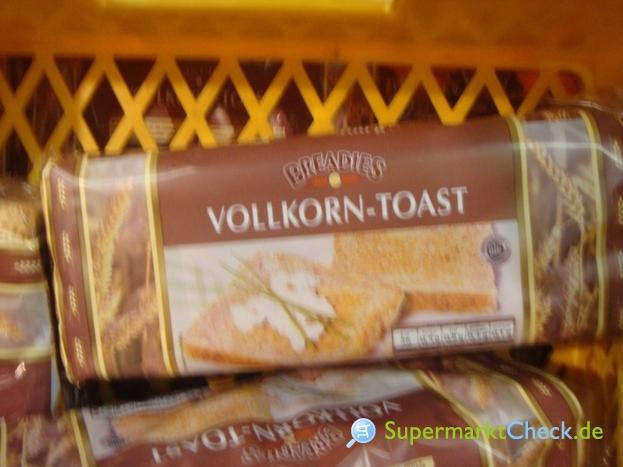 Foto von Breadies Vollkorn Toast