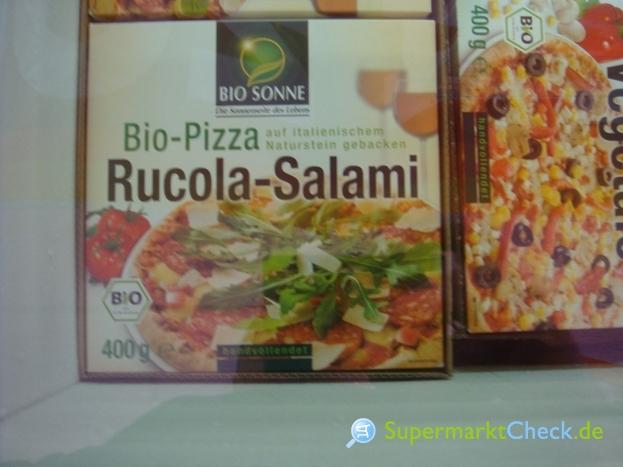 Foto von Bio Sonne Bio Pizza