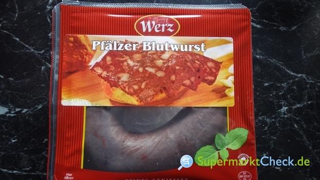 Foto von Werz Pfälzer Blutwurst im Ring
