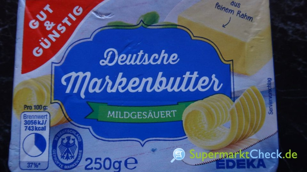 Foto von Gut & Günstig Deutsche Markenbutter
