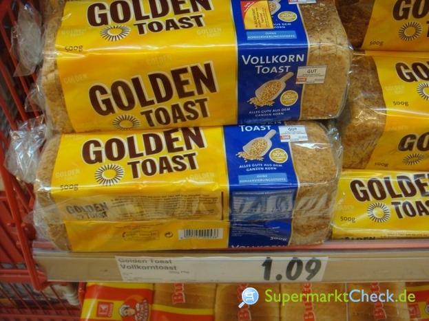 Foto von Golden Toast Vollkorn Toast