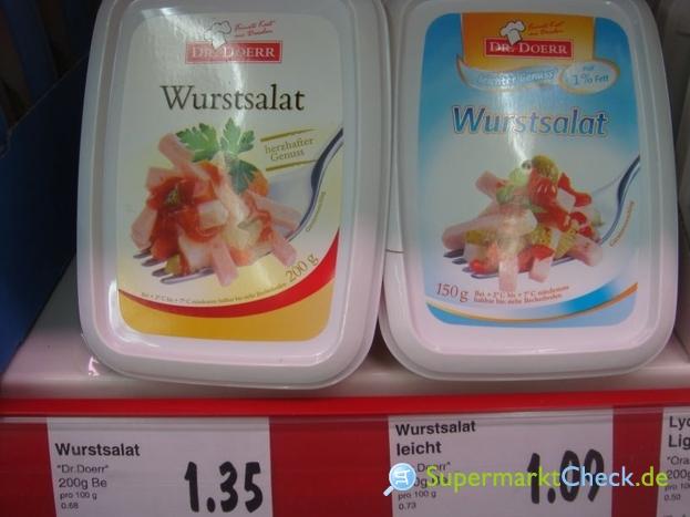 Foto von Dr.Doerr Leichter Genuss Wurstsalat