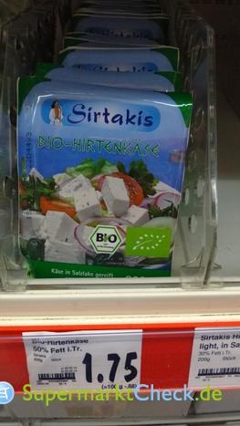 Foto von Sirtakis Bio-Hirtenkäse