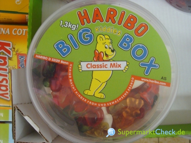 Foto von Haribo Big Kiddies Box