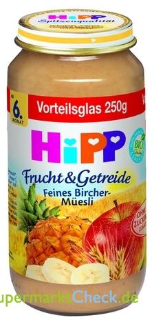Foto von Hipp Frucht & Getreide Vorteilsglas
