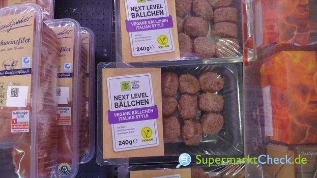 Foto von Next Level Meat Vegane Bällchen