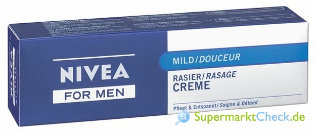 Foto von Nivea for Men Rasier Creme