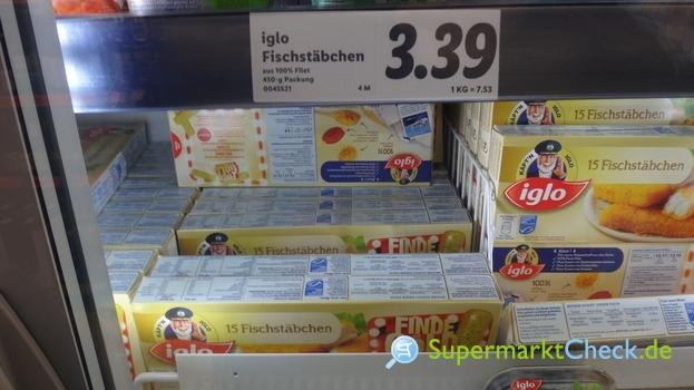 Foto von Iglo Fischstäbchen