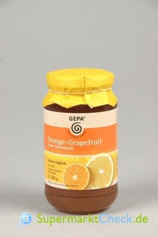 Foto von Gepa Orangen-Grapefruit Marmelade