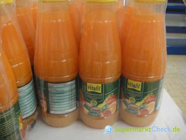 Foto von Vitafit Multivitamin Mehrfruchtsaft