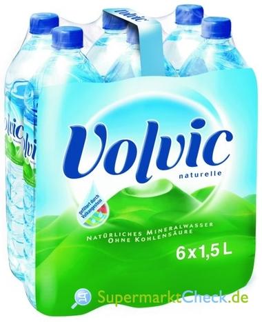 Foto von Volvic Mineralwasser