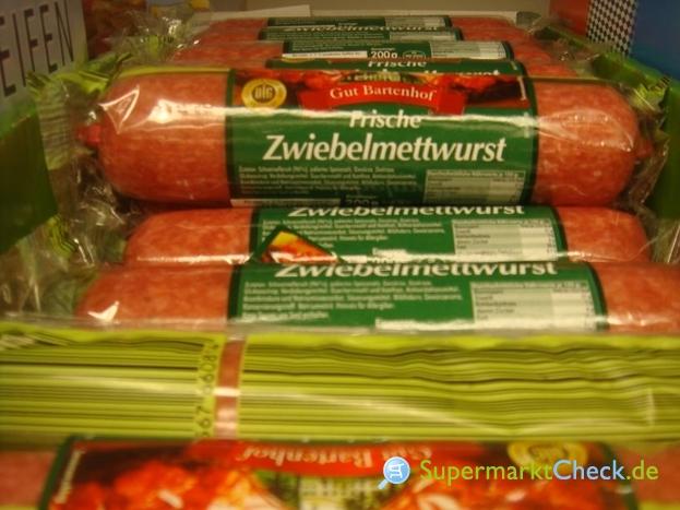 Foto von Gut Bartenhof Frische Zwiebelmettwurst