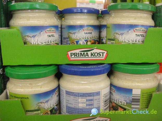 Foto von Prima Kost Tafel Meerrettich