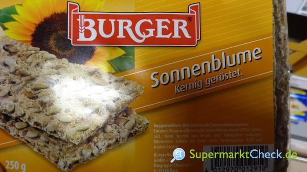 Foto von Burger Knäckebrot