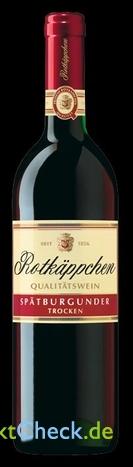 Foto von Rotkäppchen Qualitätswein Spätburgunder