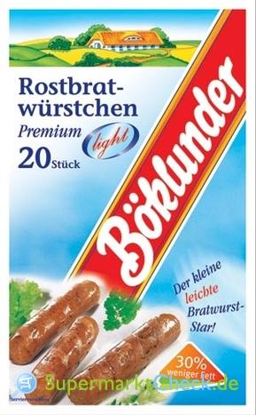 Foto von Böklunder Rostbrat-Würstchen