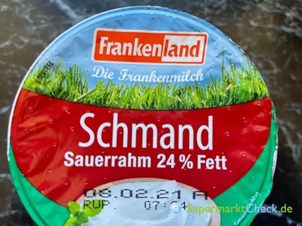 Foto von Frankenland Schmand