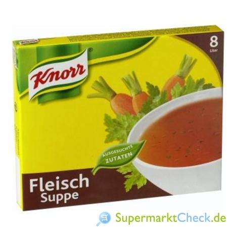 Foto von Knorr Fleisch Suppe 16-er