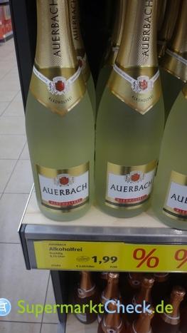 Foto von Auerbach / Aldi Süd Sekt weiß alkoholfrei