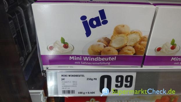 Foto von ja! Mini Windbeutel