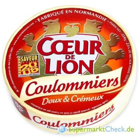 Foto von Coeur de Lion Coulommiers Käse