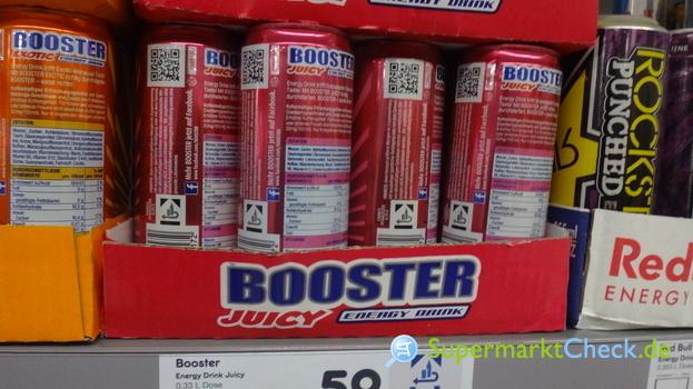 Foto von Booster BOOSTER Juicy Energy Drink