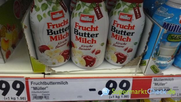 Foto von Müller Frucht Buttermilch