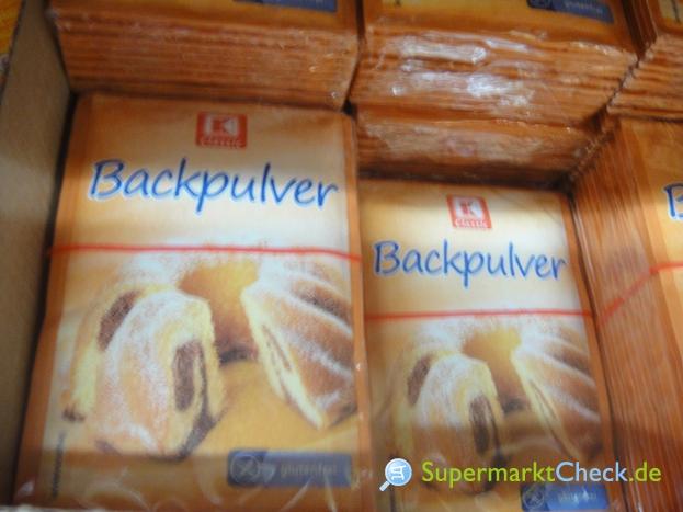 Foto von K Classic Backpulver