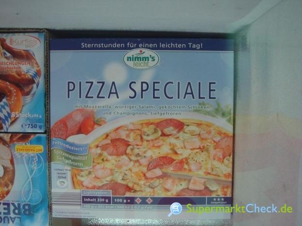 Foto von Nimms leicht Pizza